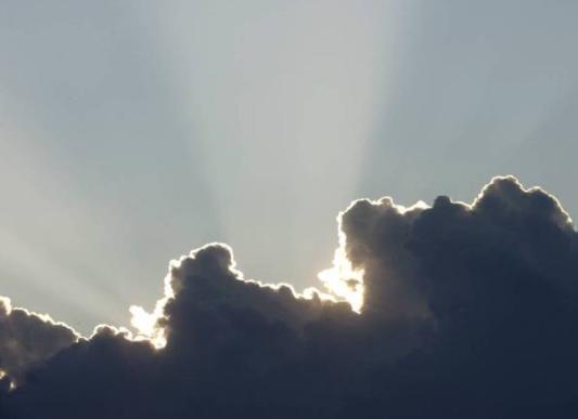 Solen har gått i moln i Karlstad