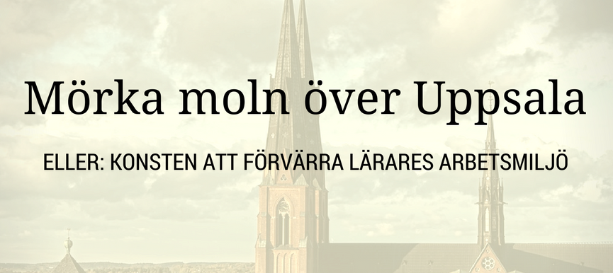 Uppsala, svenska mästare i skadlig styrning