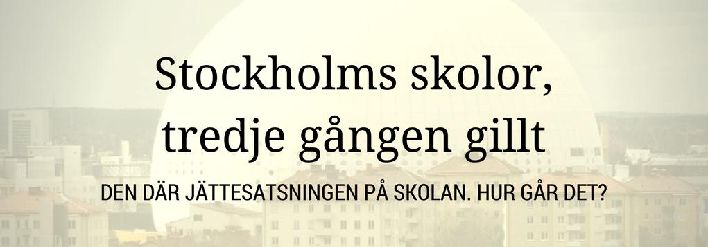 Stockholm – En dyster beskrivning av verkligheten