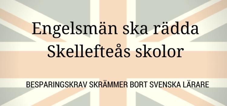 God save the queen – hon är räddningen på lärarbristen i Skellefteå