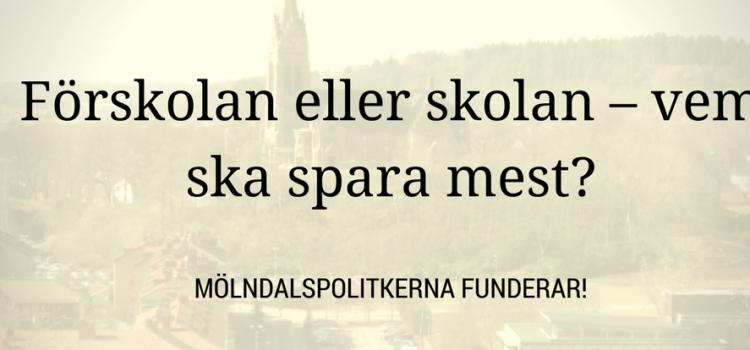 Besparingskrav för skolnämnden i Mölndal