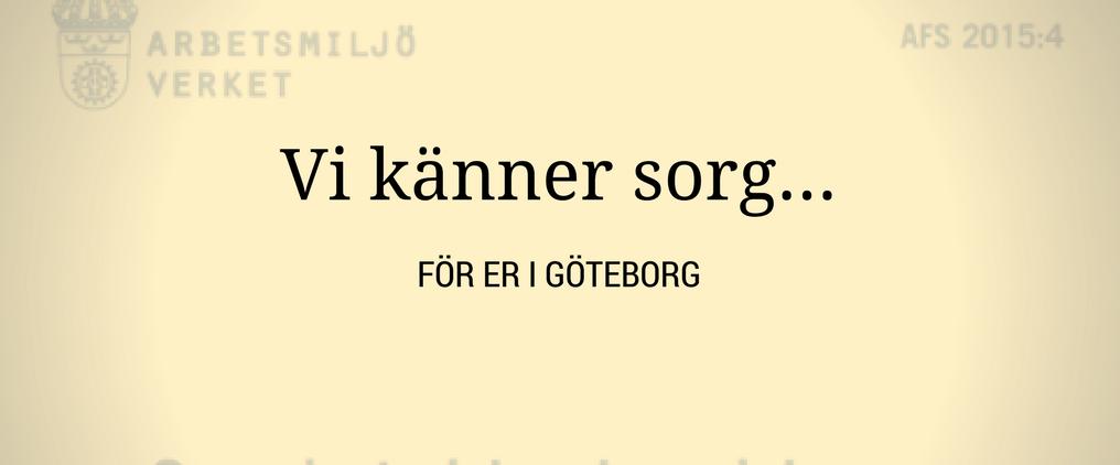 Ett sista besök i Göteborg – vad görs för att minska sjuktalen?