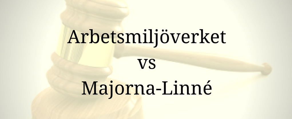 Arbetsmiljöverket vs Majorna-Linné