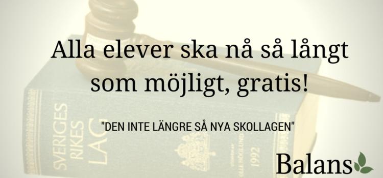 Skollagen – Björklunds största bluff!
