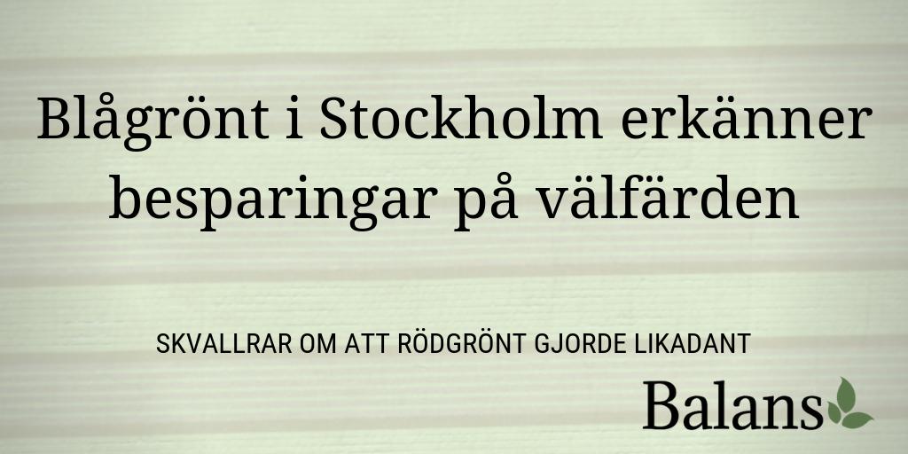 Alliansen i Stockholm: Vi kompenserar inte för löneökningar
