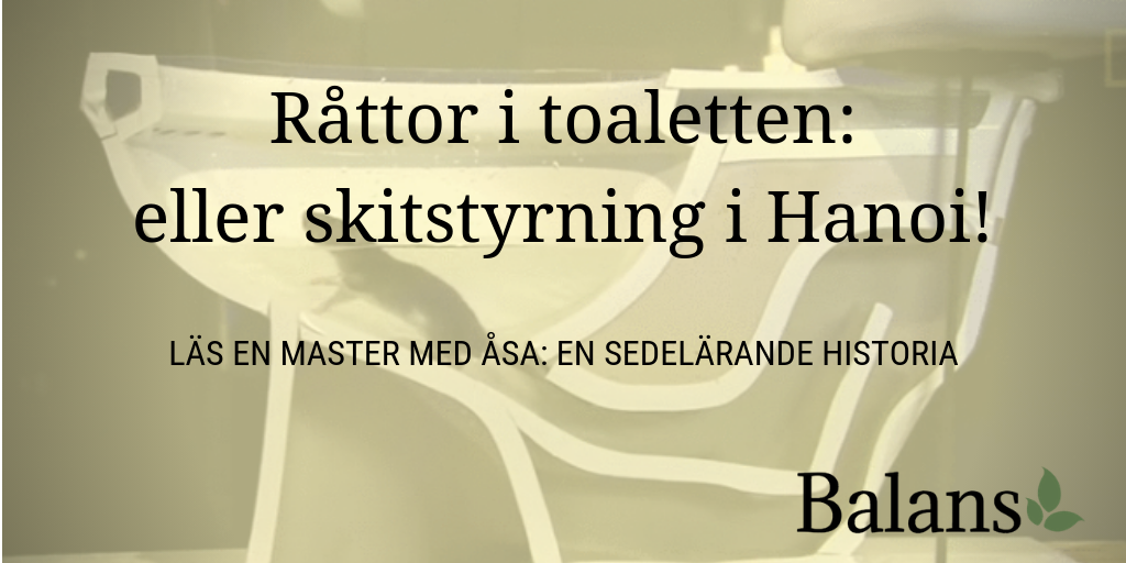 Läs en master med Åsa, del 2: Råttfångarna i Hanoi
