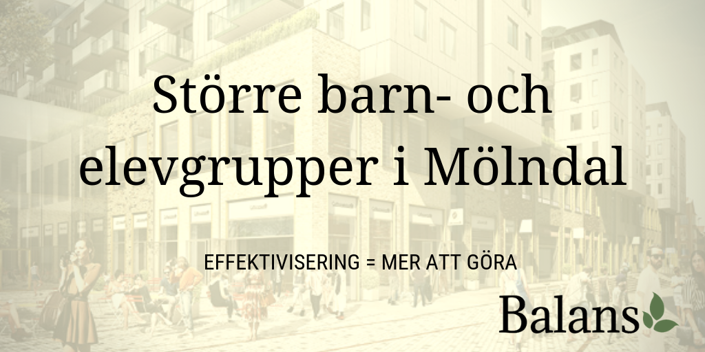 Nedskärningar och ökad arbetsbelastning i Mölndal – igen