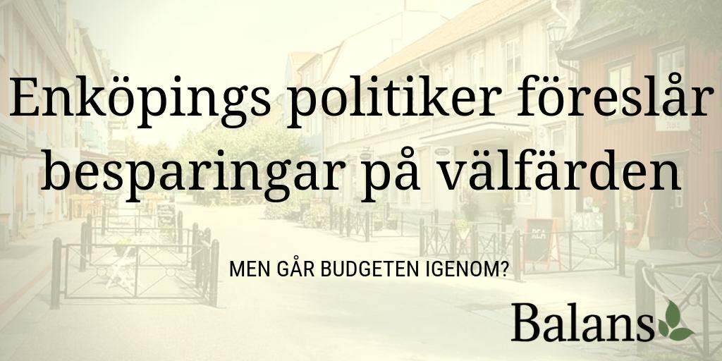 Stora nedskärningar att vänta för förskolan och skolan i Enköping