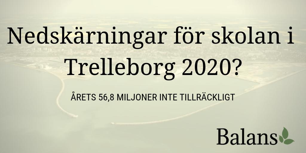 Majoriteten i Trelleborg planerar nya nedskärningar