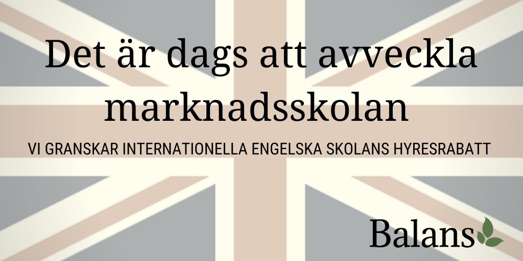Marknadsskolans negativa effekter på det svenska skolsystemet